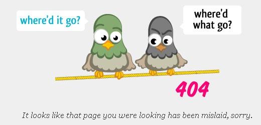 404 Error Code Example