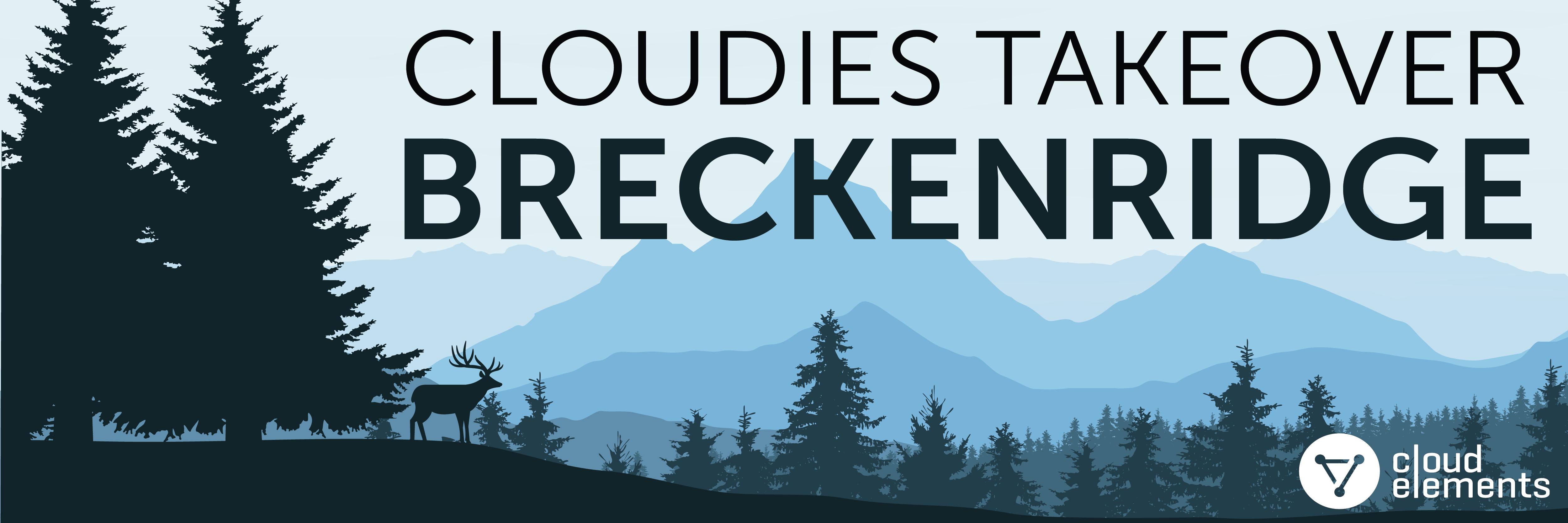 Cloudies Takeover Breckenridge Banner