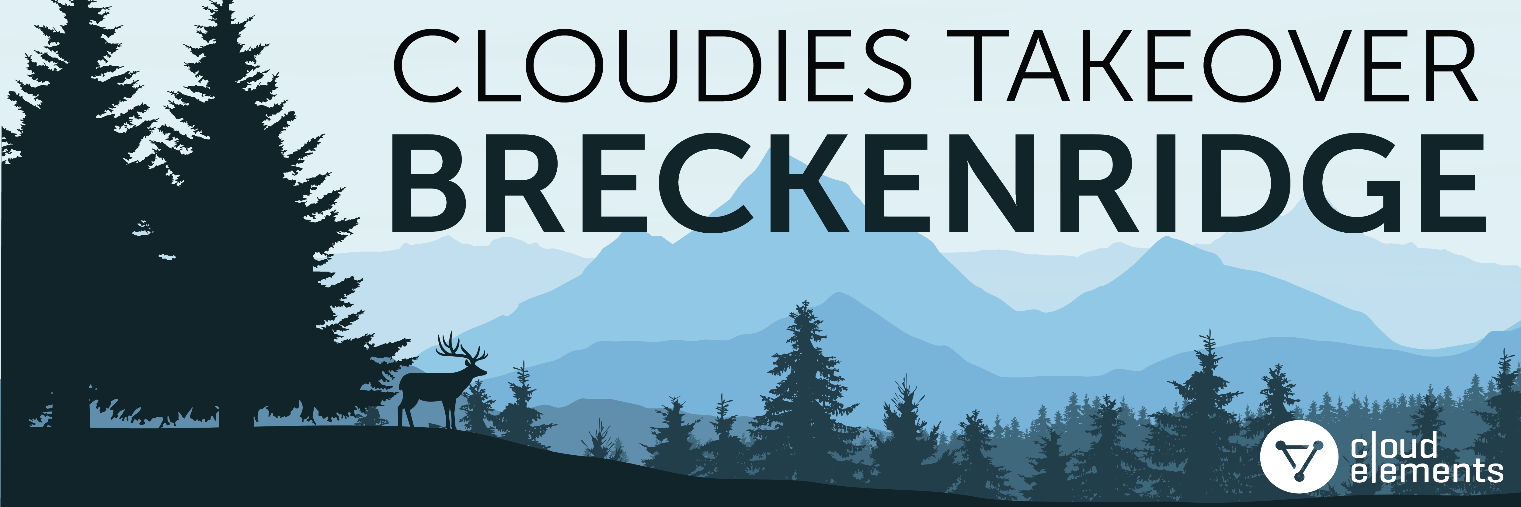 Cloudies Takeover Breckenridge Banner