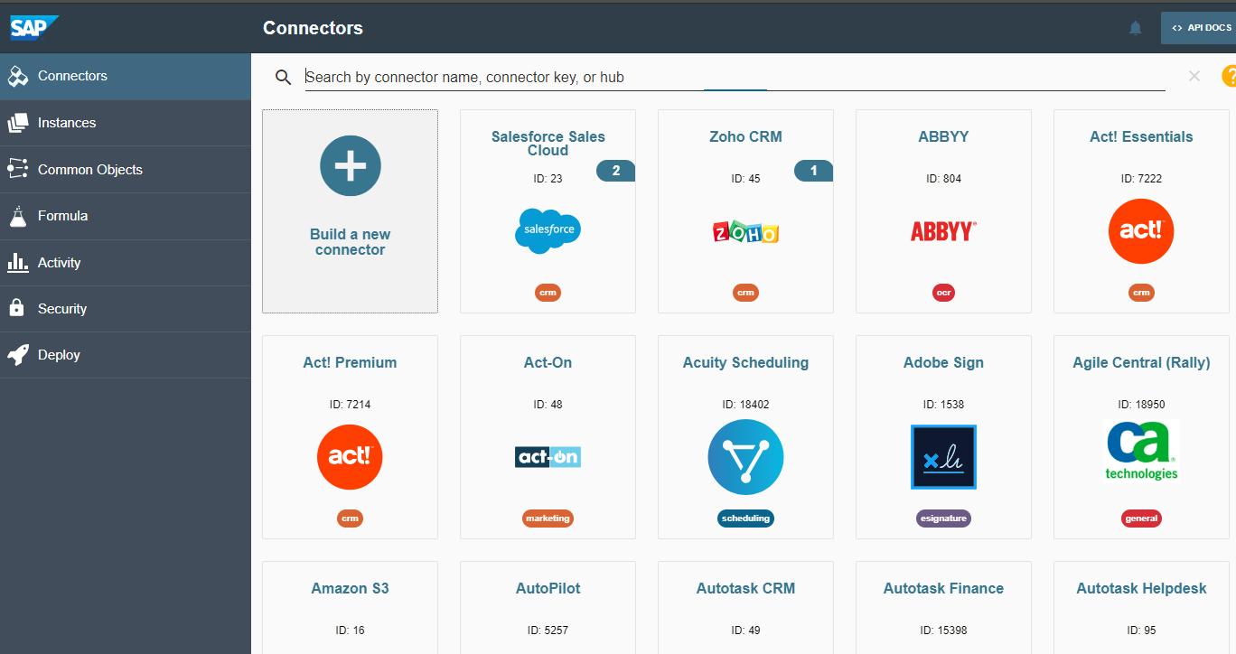 SAP Cloud Connectors
