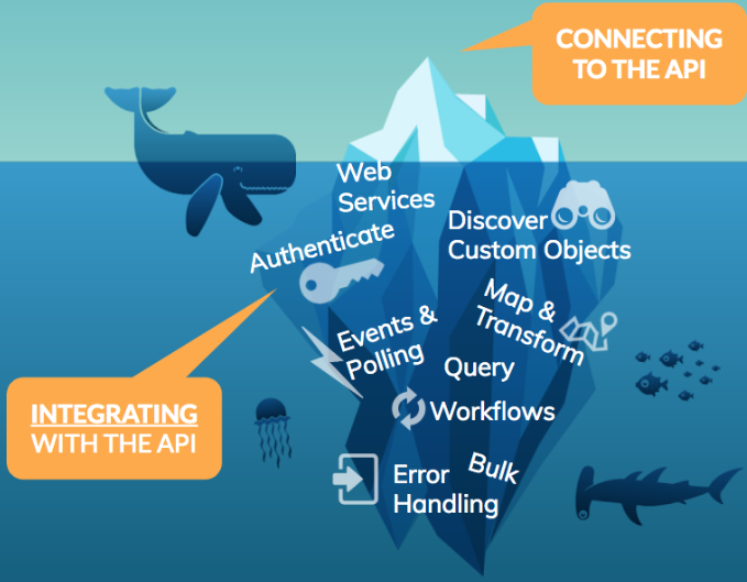 API Integration Iceberg   Cloud Elements