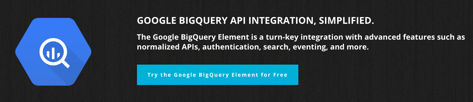 Google BigQuery Element