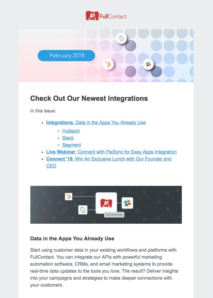 FullContact API Integration Promotion