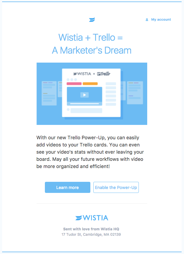Wistia + Trello Integration