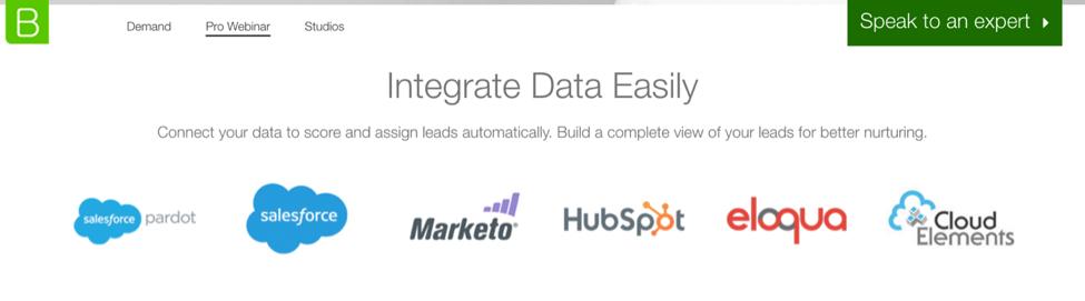 BrightTALK Integration Marketplace
