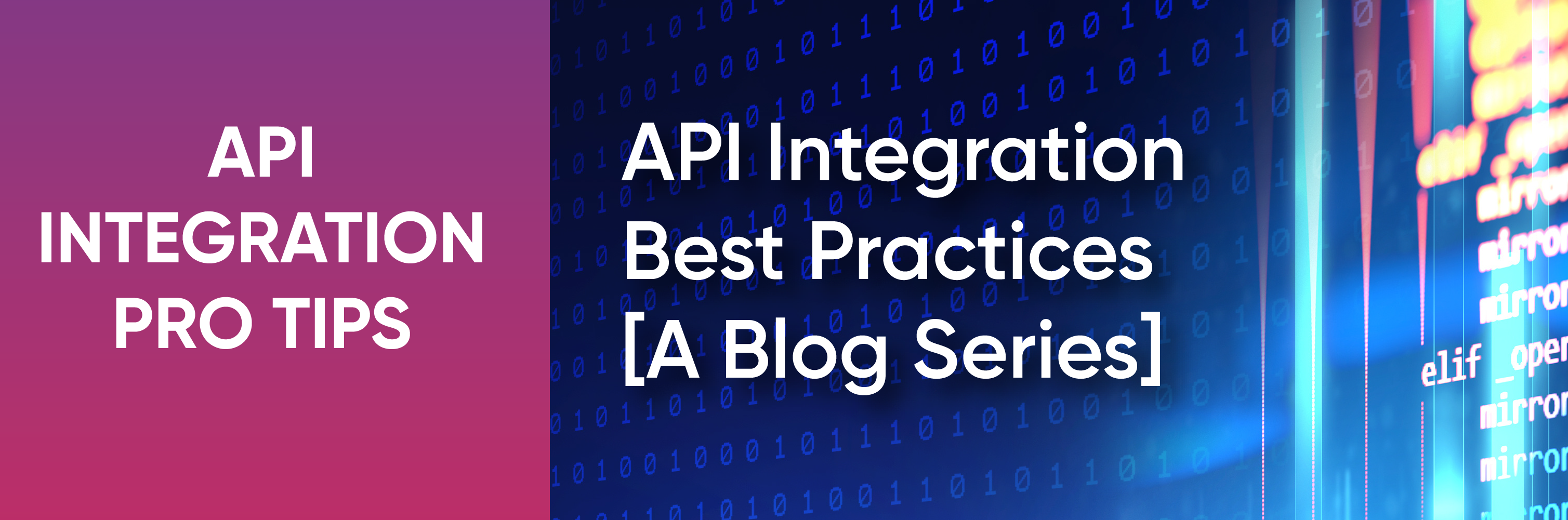 API integration best practices
