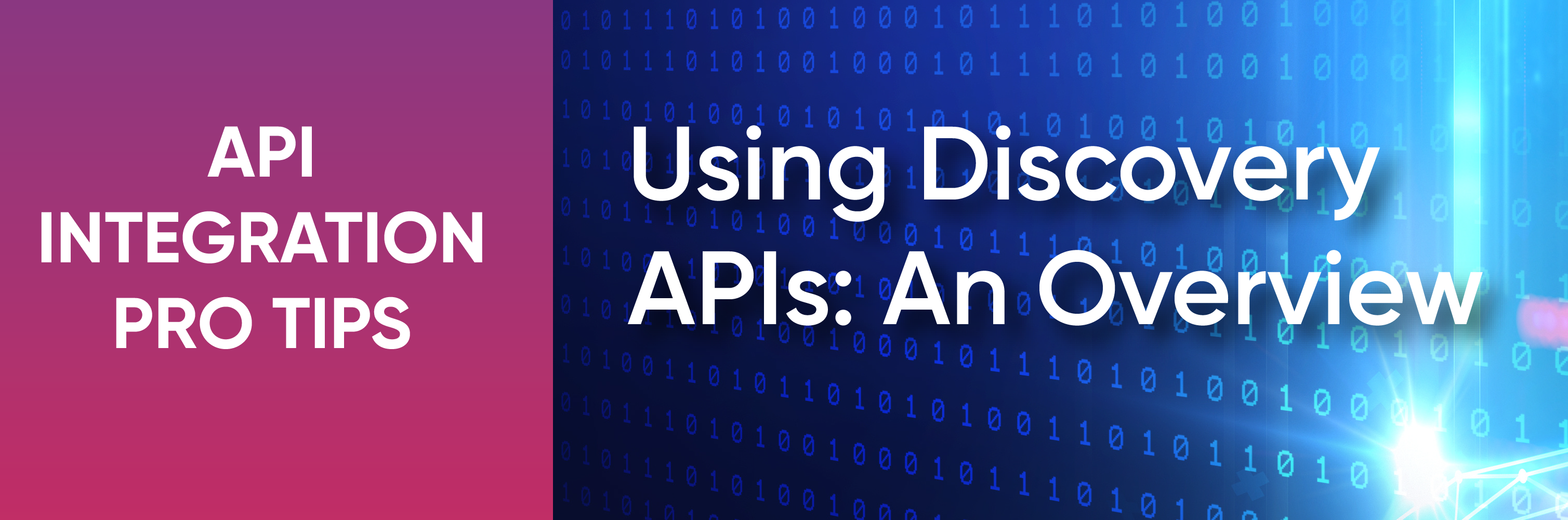 discovery APIs
