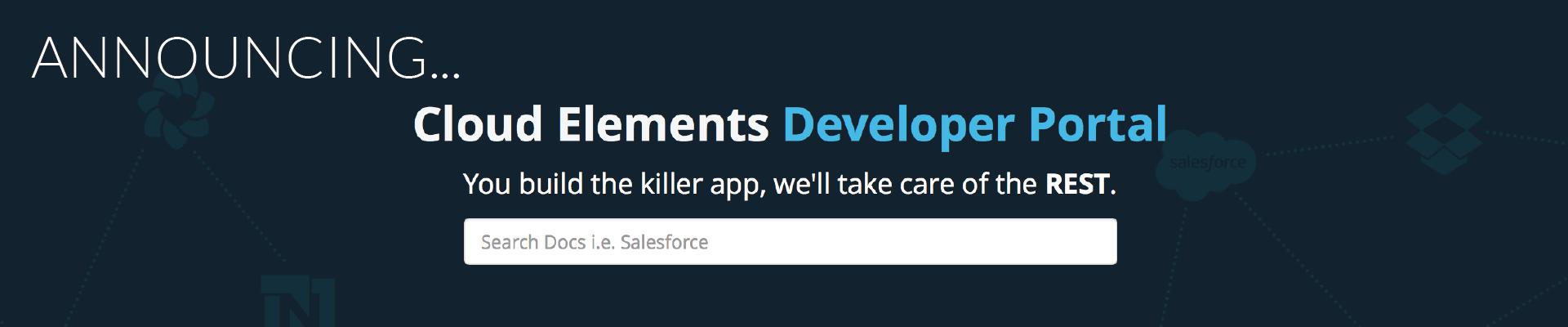 API documentation for developers