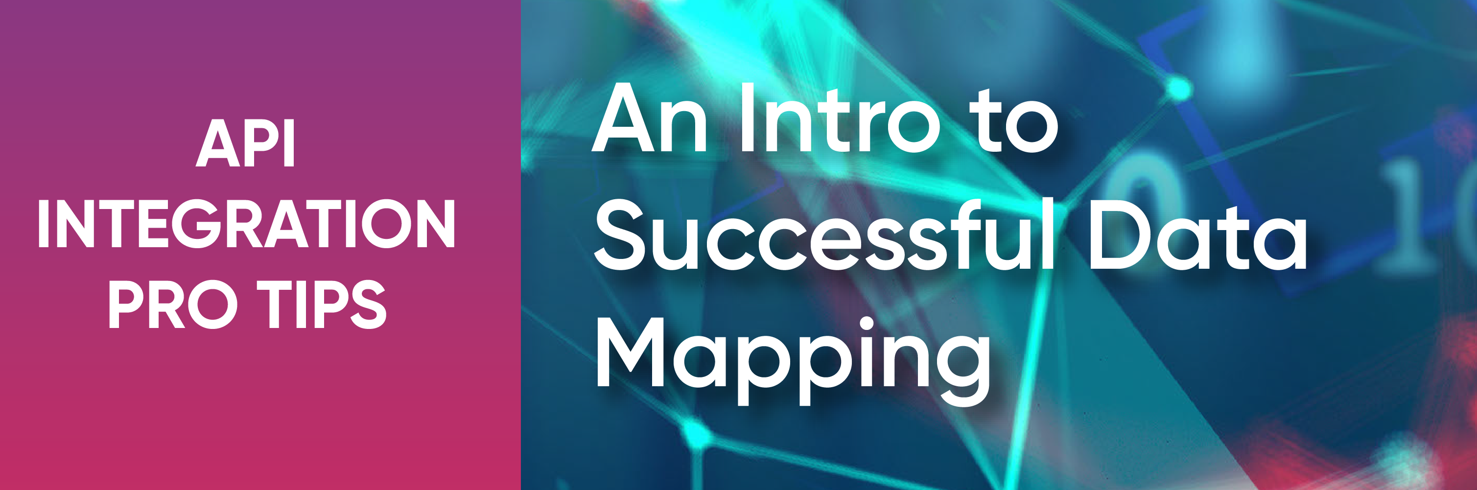 API data mapping