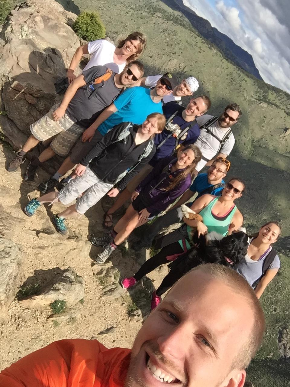 hike-selfie