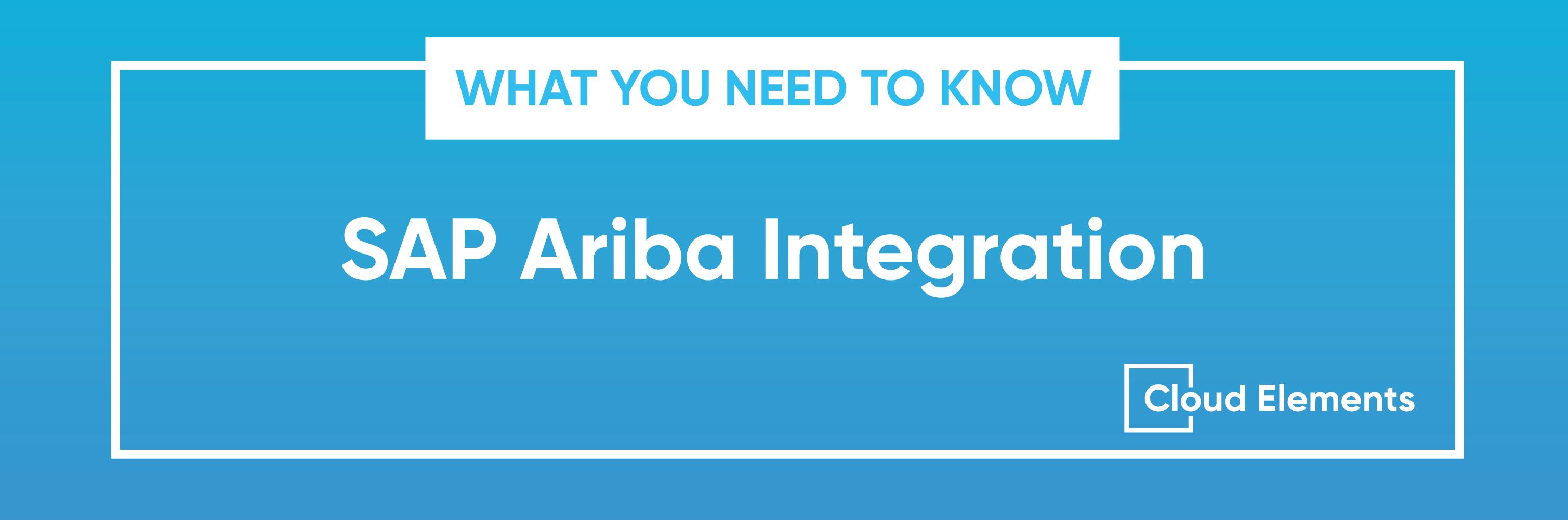 sap ariba integration