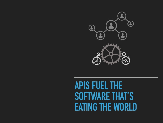 APIs fuel the software that's eating the world