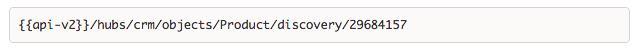 Discovery APIs